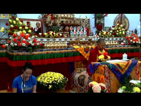 Vietnamese - 4th day Meditation with Garchen Rinpoche 8/22 morning session