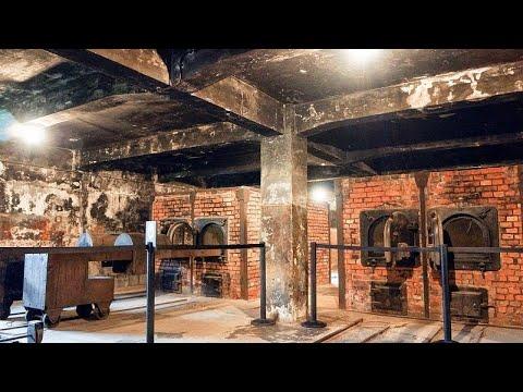 Освенцим, Аушвиц. Газовые камеры, или стены смерти. Auschwitz - Oświecim, Poland