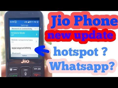 JioPhone new update