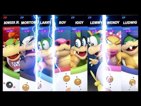 Super Smash Bros Ultimate Amiibo Fights   Request #2213 Bowser Jr vs Koopalings thumbnail