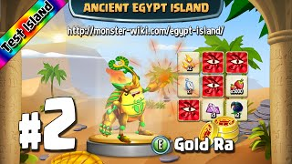 Ancient Egypt Island (Test) #2 - Gold Ra - Monster Legends