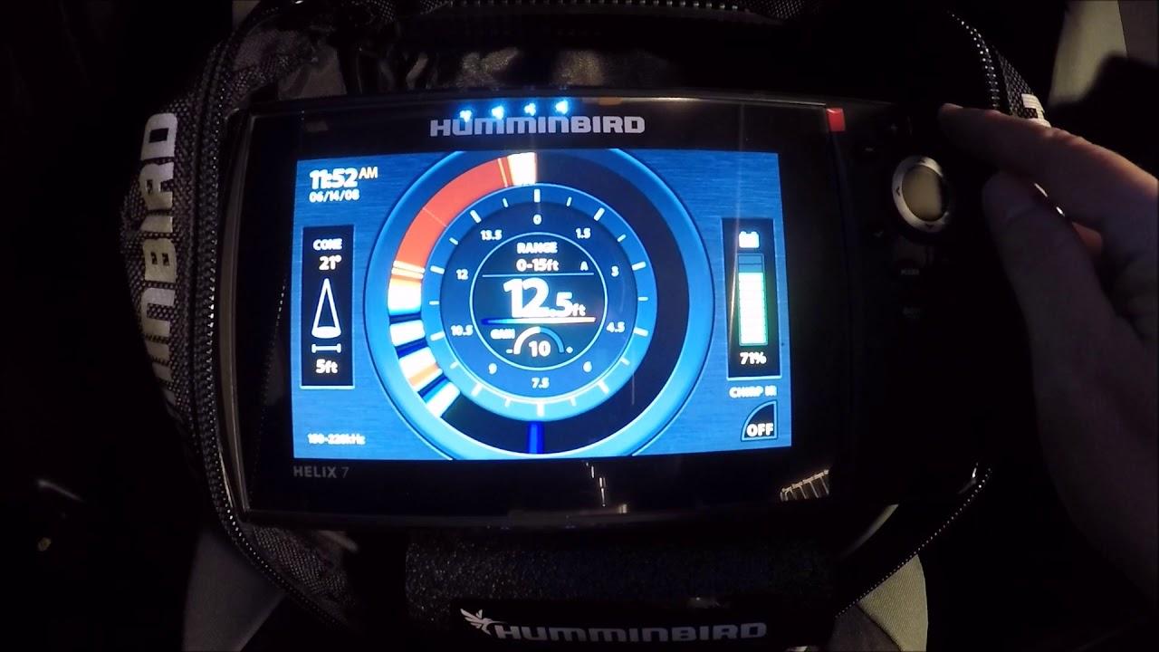 The NEW Huminbird ICE Helix 7 GPS G2!