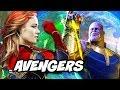 Avengers Infinity War Captain Marvel Brie Larson Costume Preview Breakdown
