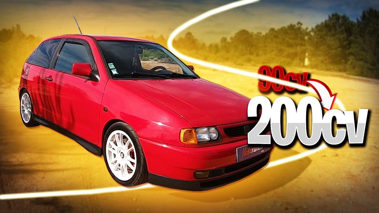 Seat Ibiza que em tempos teve 90cv e agora tem + 200