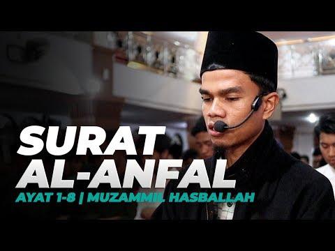 ADEMKAN HATI DENGAN QURAN | SURAH AL-ANFAL (1-8) MUZAMMIL HASBALLAH