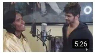OMG রানু দিদির গলায় এই প্ৰথম music বাজিয়ে গান sony tv  | Ranu didi & Himesh | Bengali women ranu did