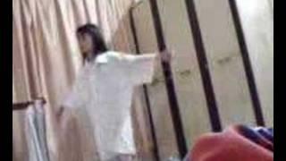 superwoman( my cousin xiao mei mei) lol!