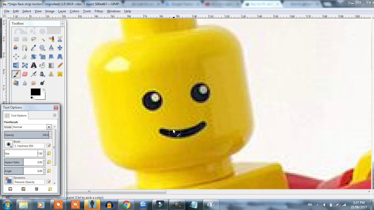 How To Make Face Animation Lego� Tutorial