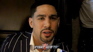 """DANNY GARCIA REACTS TO ERROL SPENCE CALLING OUT MANNY PACQUIAO """"HE WANTS TO STAY ON PPV"""""""