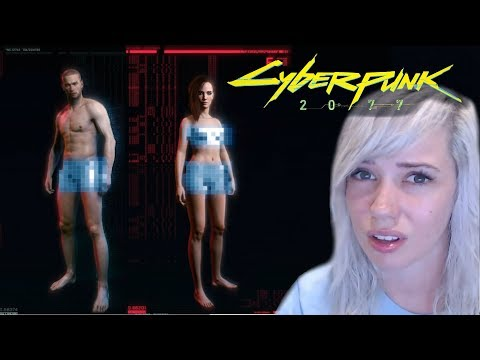 """CYBERPUNK 2077 removed """"binary gender options"""" [CONTROVERSY]"""