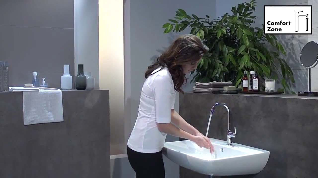 Hervorragend 32082000 Hansgrohe Talis Single mixer 210 - YouTube CH01