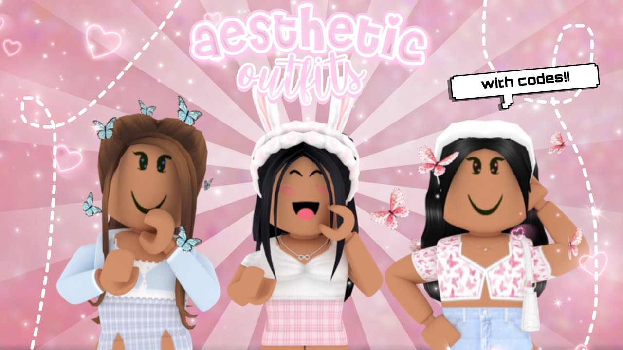 Aesthetic Roblox Outfits With Codes Youtube