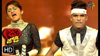Mahesh and Ritu Performance | Dhee Jodi | 13th February 2019 | ETV Telugu