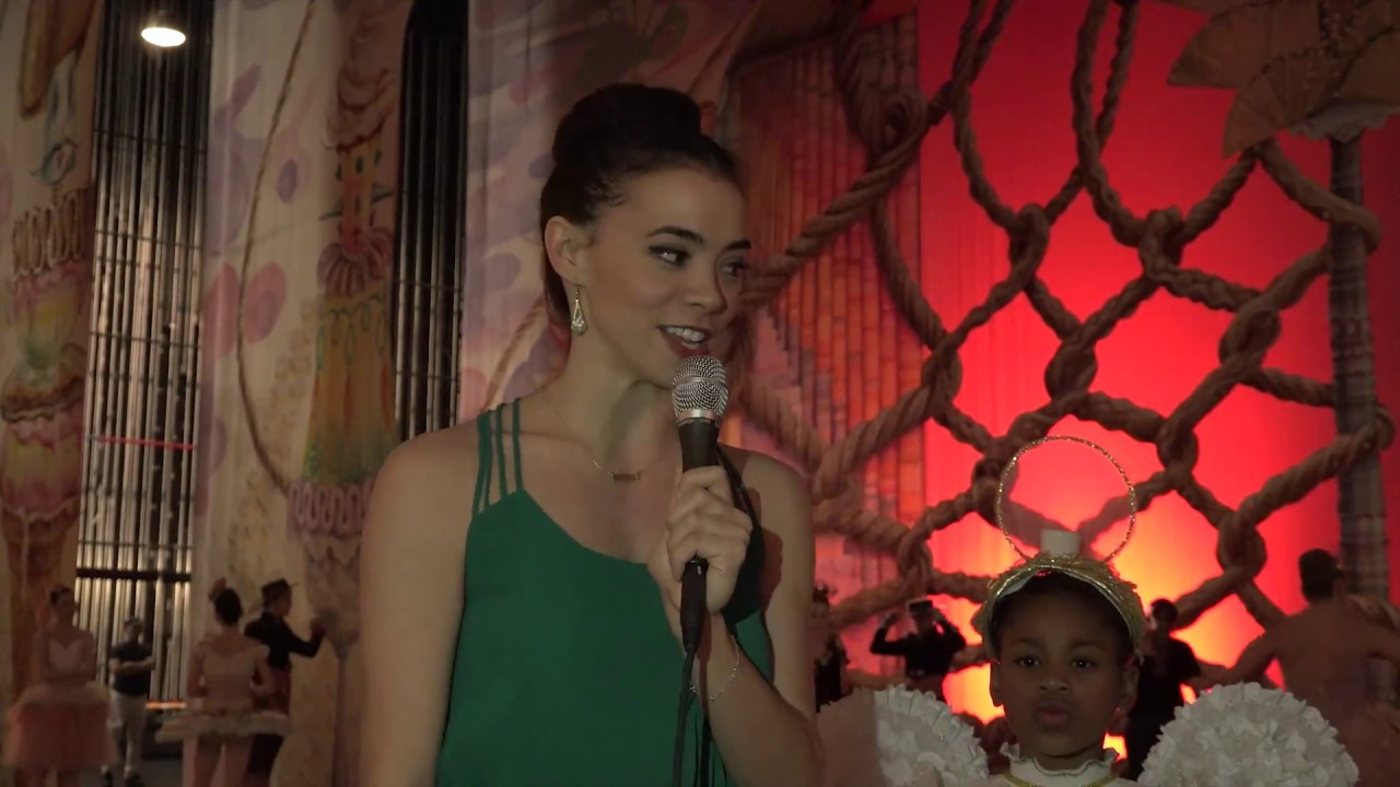 a5eb7754dea4 Backstage interview with Dancer Adrienne Carter
