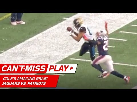 Keelan Cole's Insane Toe Drag Swag vs. Pats! | Can't-Miss Play | AFC Championship HLs