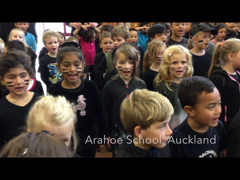 Arahoe School Stands Together With The All Blacks