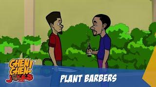 KOJO PLANT BARBER (GHEN GHEN JOKES COMEDY)