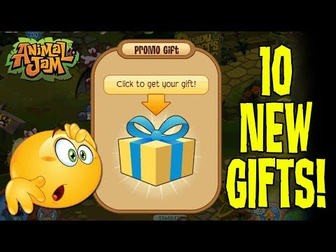 Animal Jam Giving Out New Promo Animals! 10 New Gifts Right Now!