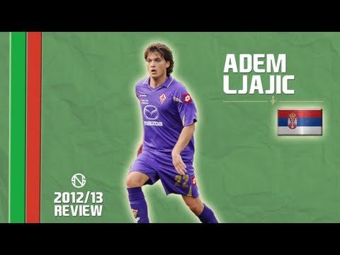 ADEM LJAJIĆ   Goals, Skills, Assists   Fiorentina   2012/2013 (HD)
