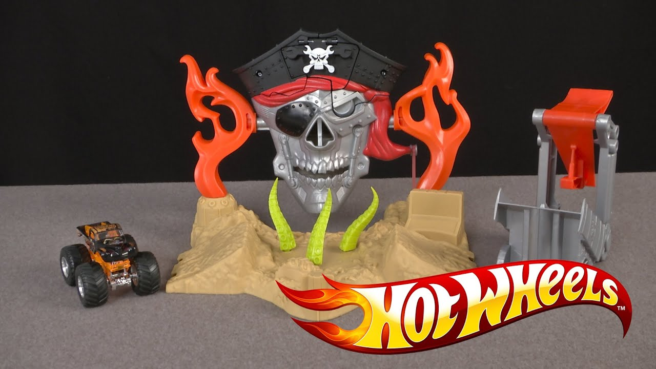 Hot Wheels Monster Jam Pirate Takedown From Mattel Youtube