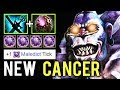 NEW CANCER HERO MID 5x Maledict Burn Dagon 5 Doctor Crazy Gameplay by Costabile 7.20 Dota 2
