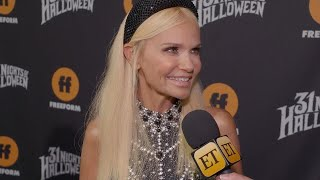 Kristin Chenoweth Gushes Over Ariana Grande and Dove Cameron -- Watch! (Exclusive)