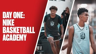 Jalen Green, Emoni Bates, and More Show Out at Nike Basketball Academy - Day 1 Highlights