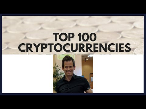 Top 100 Cryptocurrencies by Market Cap reviewed.  From defi on Ethereum to Bitcoin to shit coins!