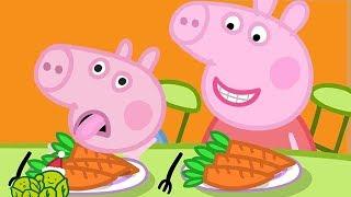 小猪佩奇 | 精选合集 | 1小时 | 小猪佩奇喜欢胡萝卜🥕 粉红猪小妹|Peppa Pig Chinese |动画