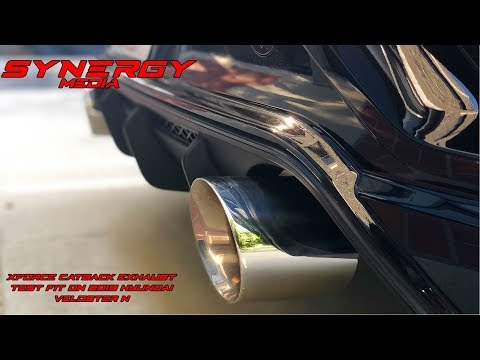 Repeat Xforce Catback Exhaust Test Fit on My Hyundai