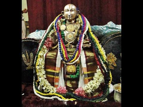 Thirumanjanam Thoopul Swami Desikan Sri Maragathavalli thayar