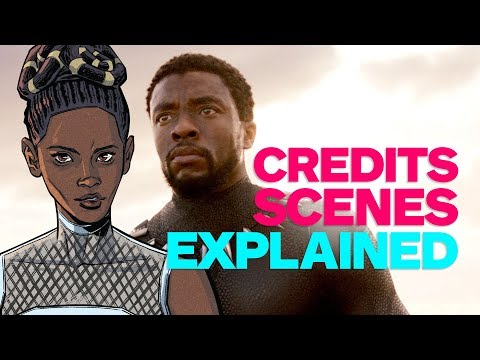 Black Panther End Credits Scenes Explained