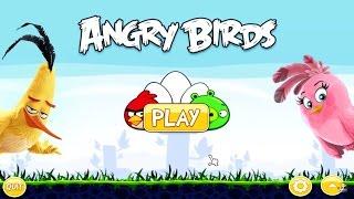 Angry Birds Gameplay en Español – Juego PC divertido para niños – Pájaros enfadados juego
