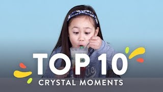 Top 10 Crystal Moments | Top 10 | HiHo Kids