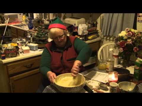Making Cranberry Orange Bread!