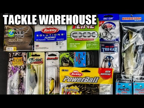 What's In MY Tackle Warehouse Box? NEW Soft Plastic, Frogs, Swimbait, Fishing Line (WHY Buy These?)