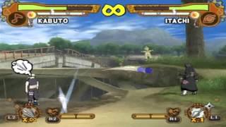 NUN5 Kabuto vs. Deidara, Kiba, Itachi, Naruto, Zabuza & Kimima…