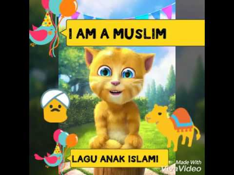 I Am A Muslim👳nasheed🐪lagu Anak Islam Versi Talking Ginger