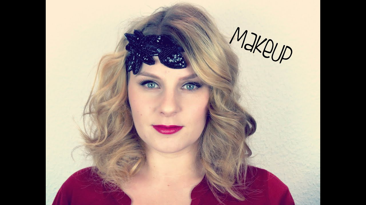 20er jahre makeup thebeautysaddiction youtube for 20er jahre make up