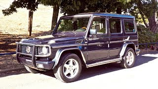 2002 Mercedes Benz G55 AMG (Canada Import) Japan Auction Purchase Review