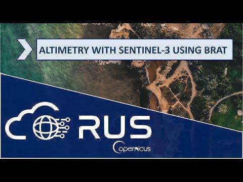 RUS webinar: Altimetry with Sentinel-3 using BRAT - Part 1 - OCEA06