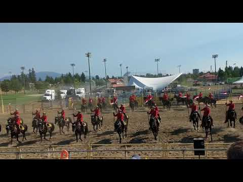 RCMP Musical Ride in Abbotsford Part One