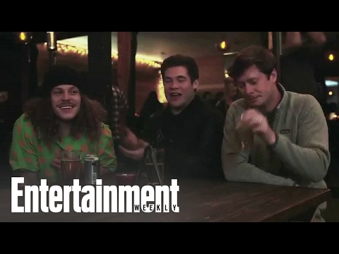 The Workoholics: Cast Impersonates Each Other Over Beers  Entertainment Weekly