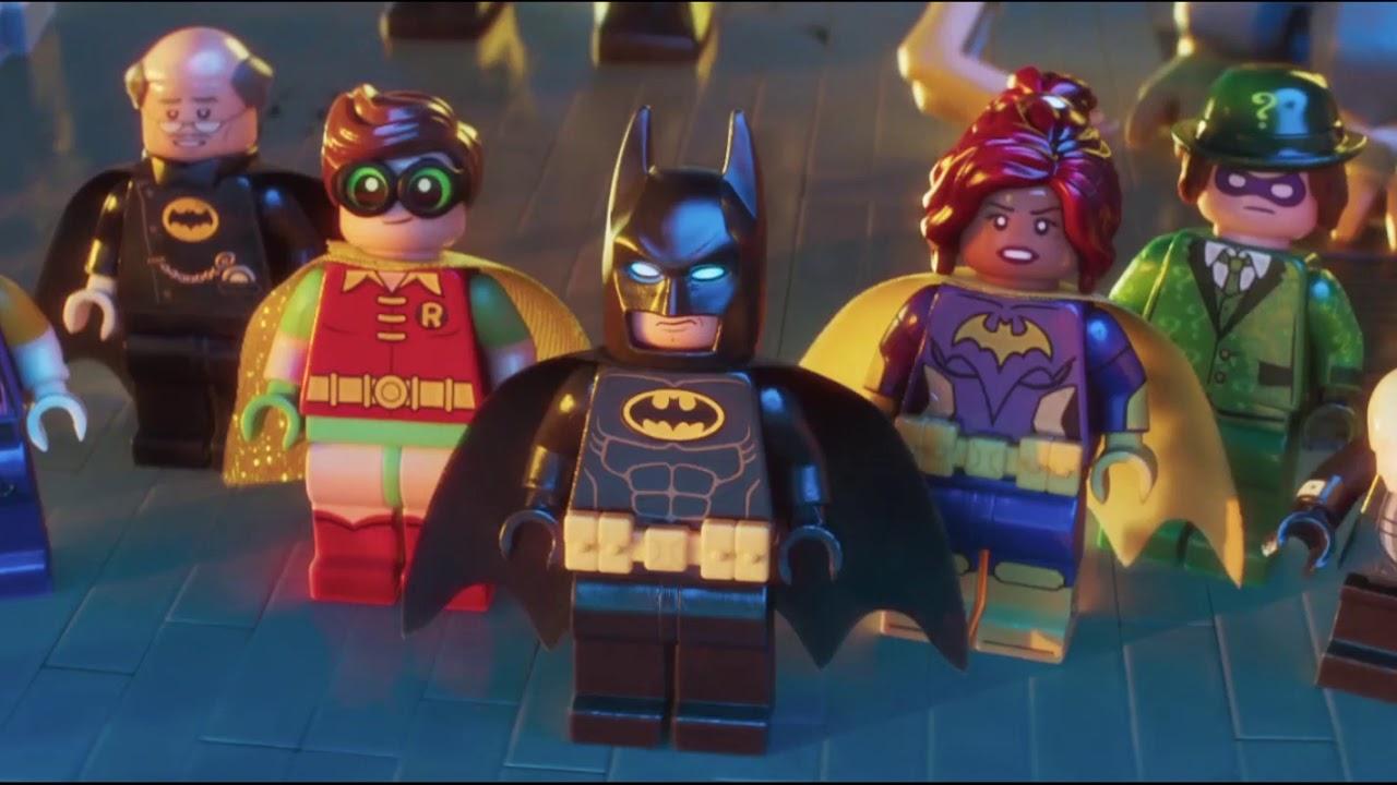 The Lego Batman Movie Man In The Mirror Scene Ending Scene 1080phd Youtube