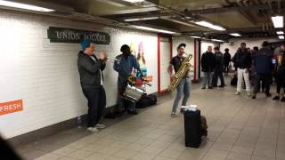Too Many Zooz @ Union Square on 11/13/2013