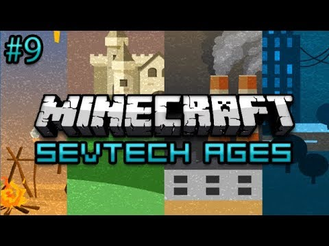 Minecraft: SevTech Ages Survival Ep. 9 - Underground Forest?
