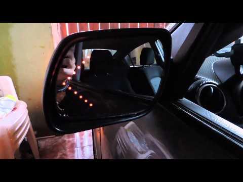 LED intermitente para espejos laterales