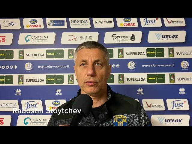 """Verso #VeronaCisterna, Stoytchev: """"Partita decisiva contro un avversario che non farà sconti"""""""
