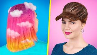 11 милых причёсок за пару минут / Проверка лайфхаков из ТикТока