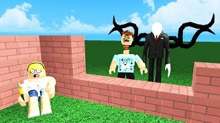 BUILD A HOME TO SURVIVE AGAINST MONSTERS! - Roblox
